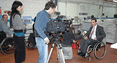 La discapacidad, el asalto a los medios de comunicación