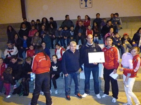 Agradecimiento al Club Han´s Horang-1 de Taekwondo