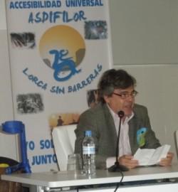 Carta de Alfredo sobre las Jornadas de Lorca