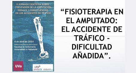 FISIOTERAPIA EN EL AMPUTADO: El accidente de tráfico,dificultad añadida