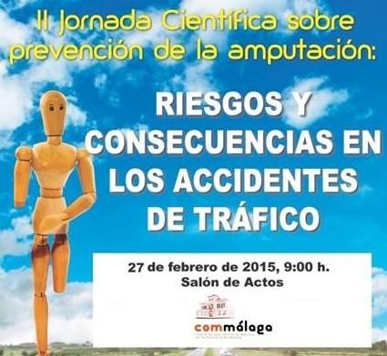 Próxima celebración en Málaga de la II Jornada Científica sobre Amputación